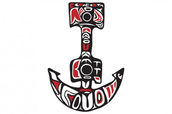 Anchor Northwest Coast Art example image 1