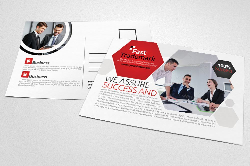 Corporate Business Post Cards example image 1
