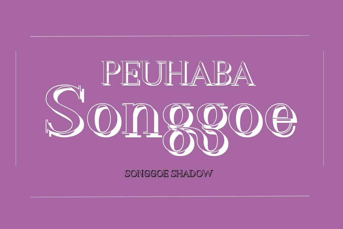 Songgoe Shadow example image 1
