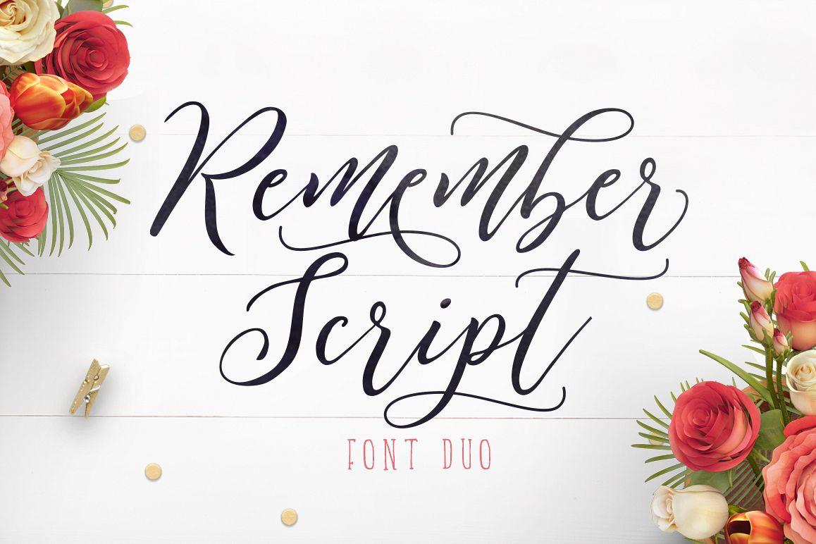 Remember Script example image 1