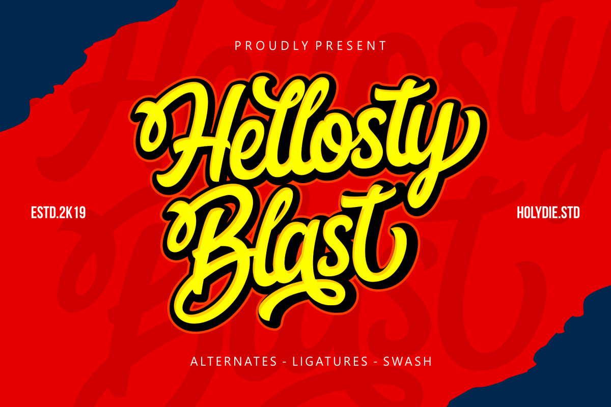 Hellosty Blast example image 1