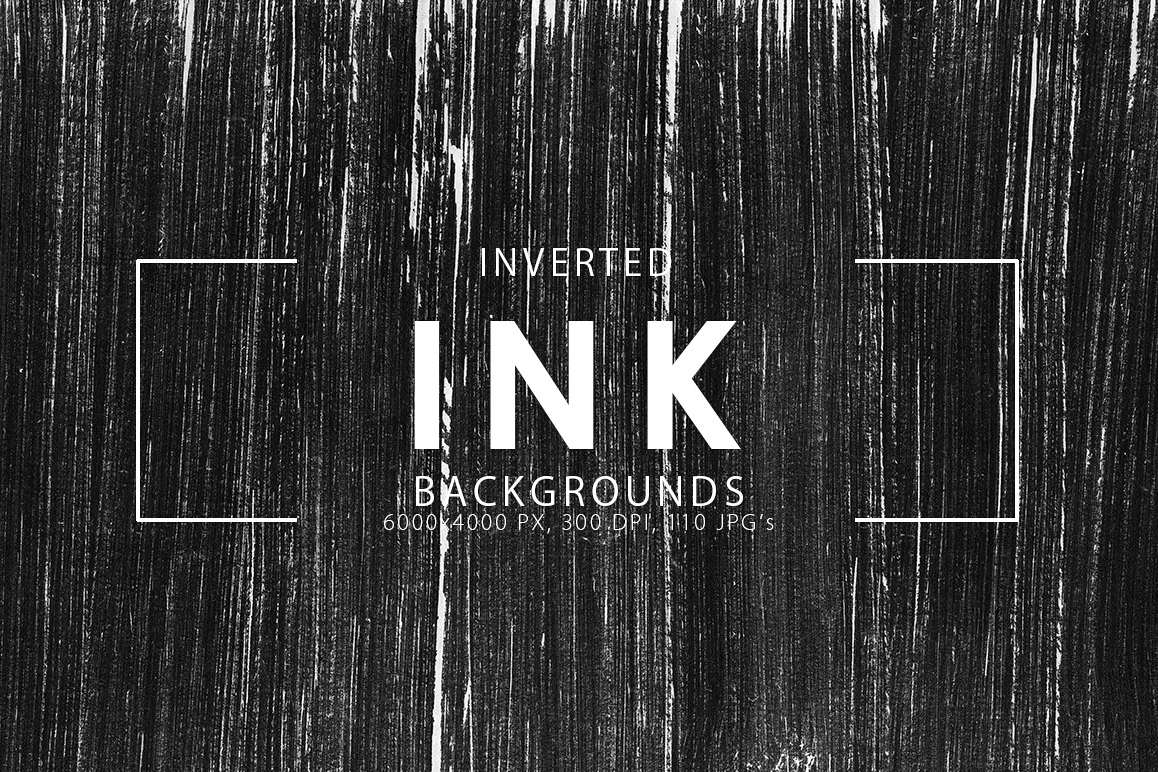 Inverted Black Ink Backgrounds example image 1
