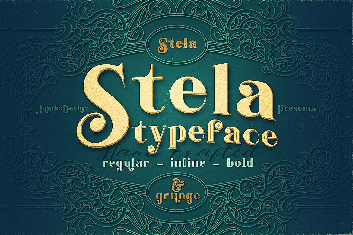 Stela - Display Font example image 1