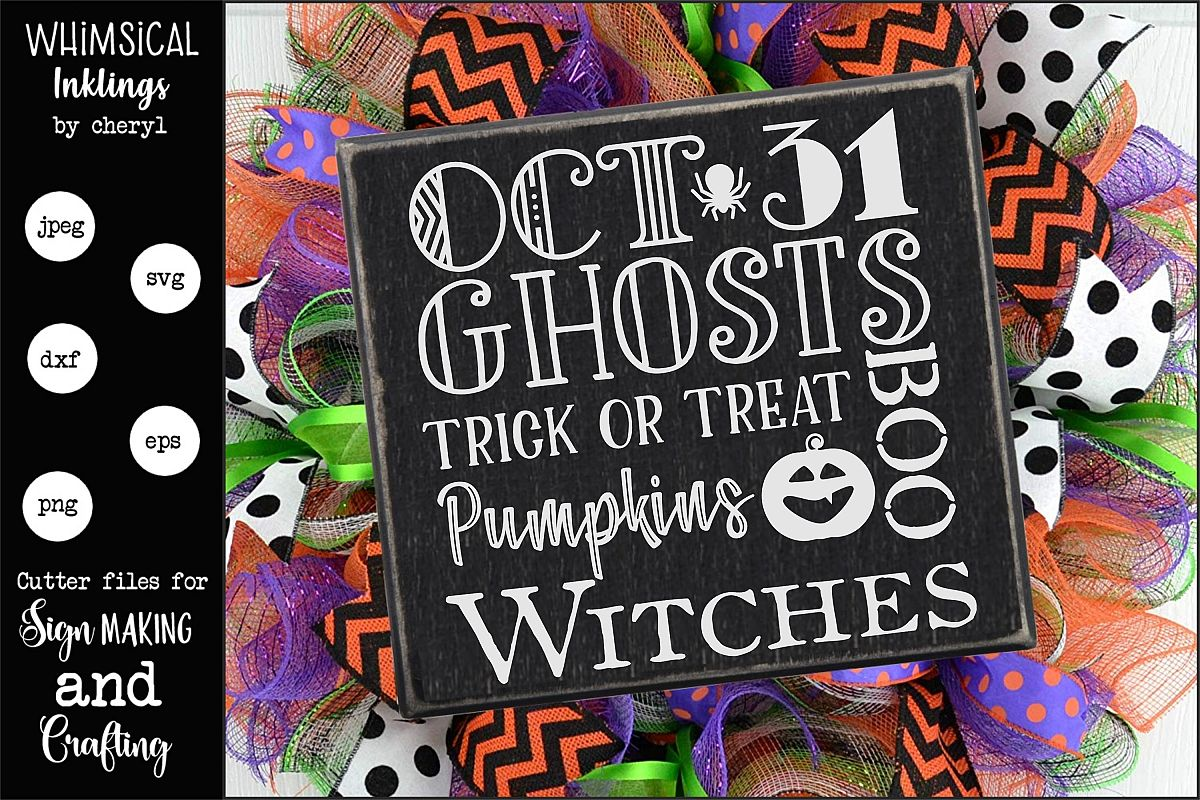 Oct 31-Halloween SVG example image 1