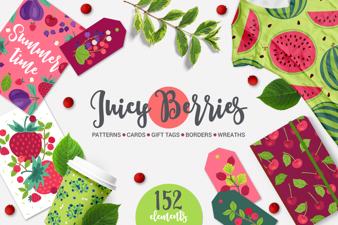 Juicy Berries Kit example image 1