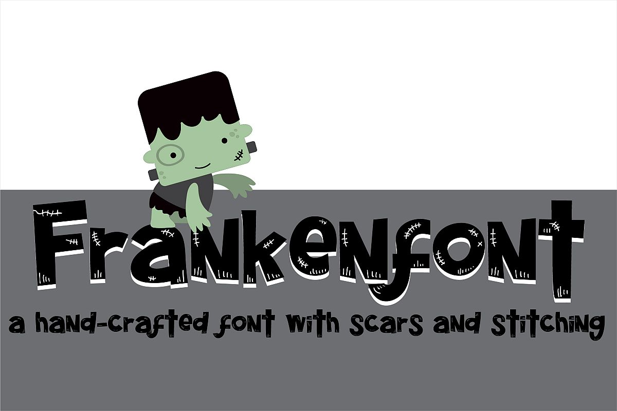 PN Frankenfont example image 1