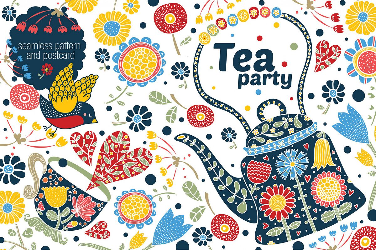Tea party. example image 1