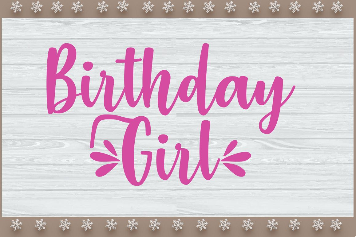 Birthday Girl and Boy's SVG Design example image 1