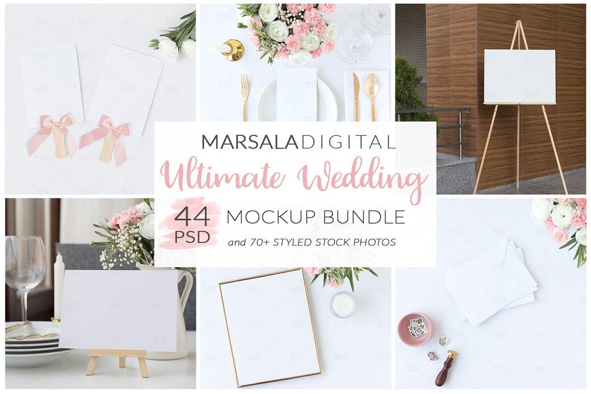 Ultimate Wedding Mockup Bundle example image 1
