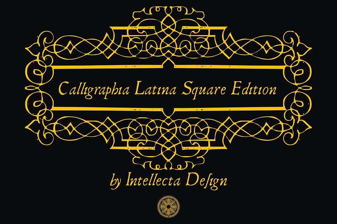 Calligraphia Latina Square Edition example image 1