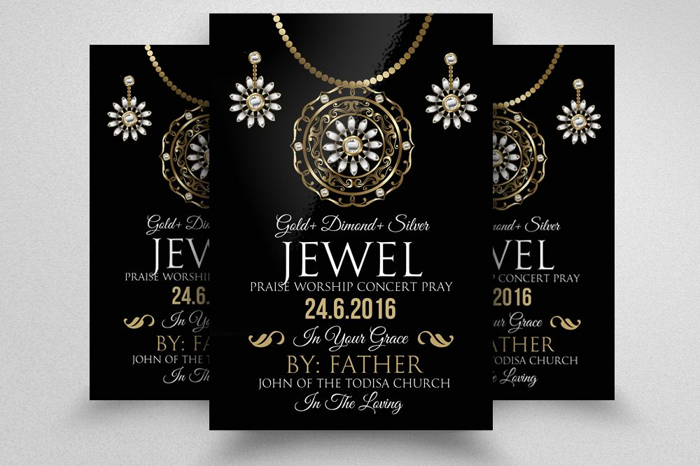 Jewellery Shop Promotion Flyer