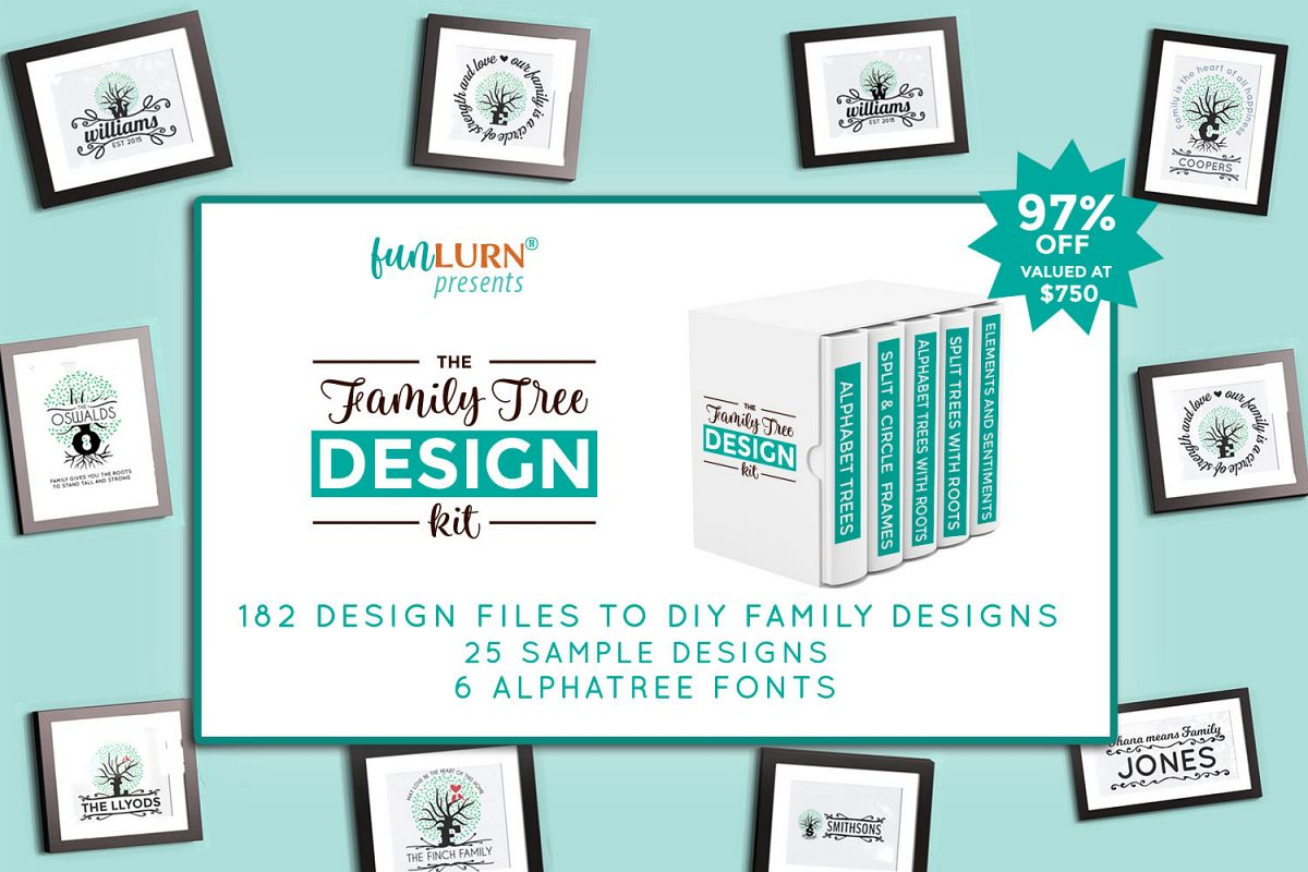 The Family Tree Design Kit example image 1