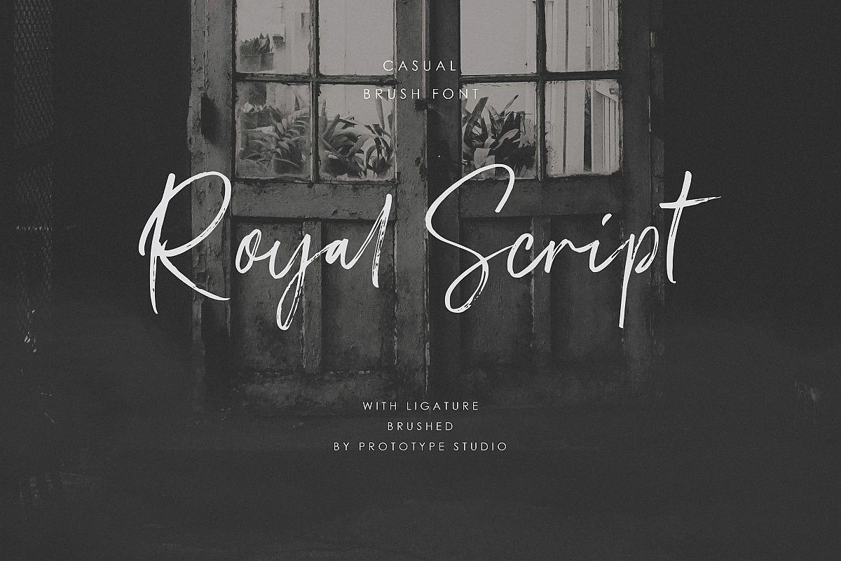 Royal Script example image 1