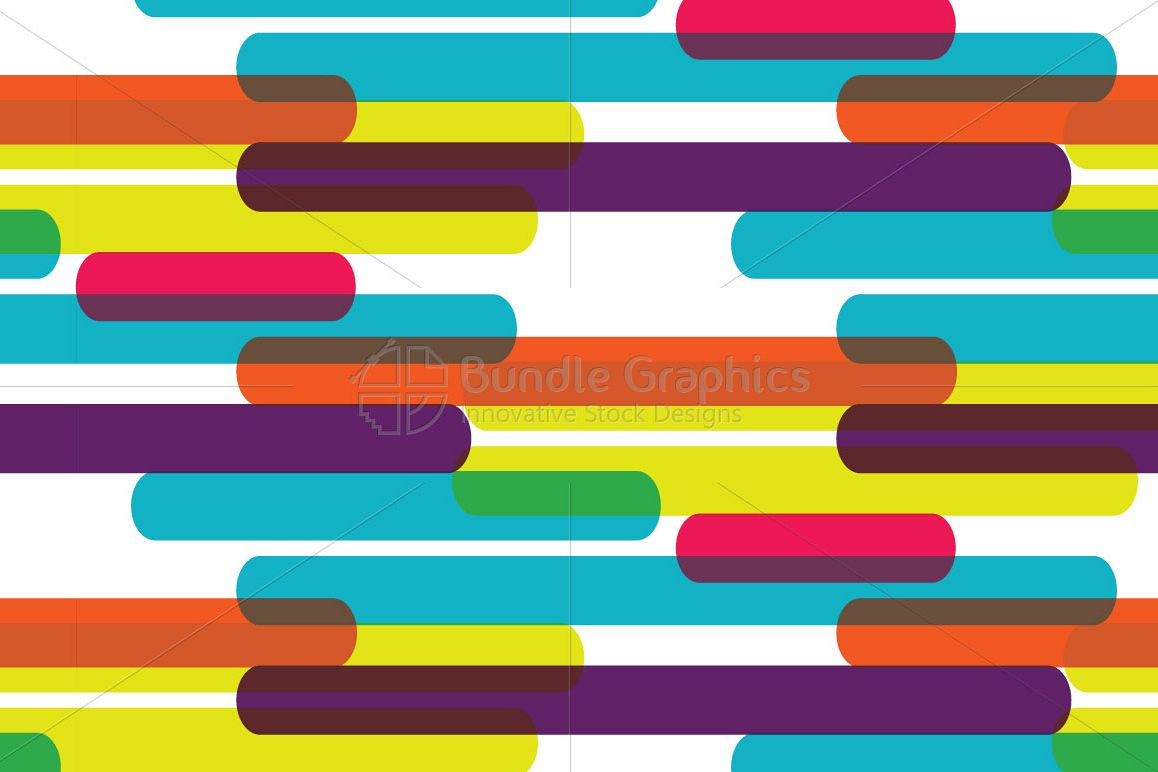Colorful Lines Background example image 1