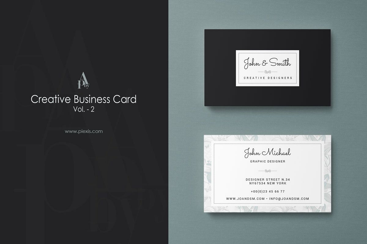 Creative Business Card Vol.2 example image 1