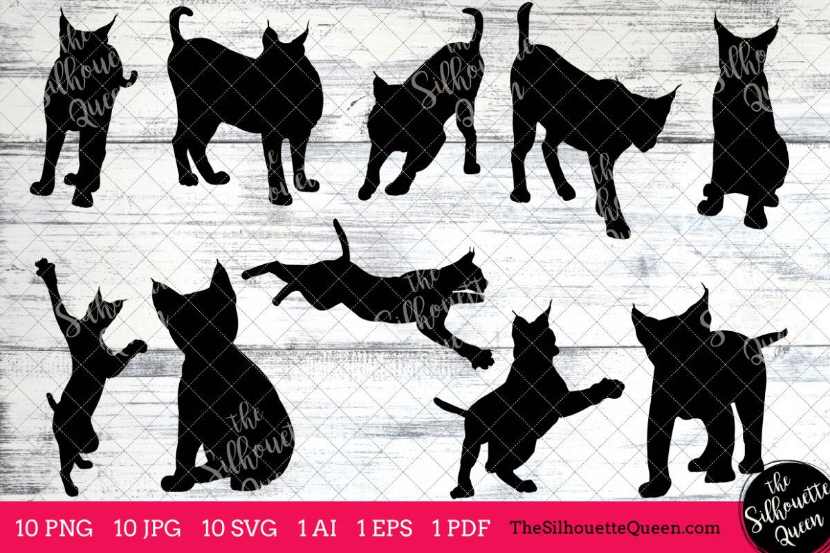 lynx silhouette clipart clip art ai eps svgs jpgs pngs pdf