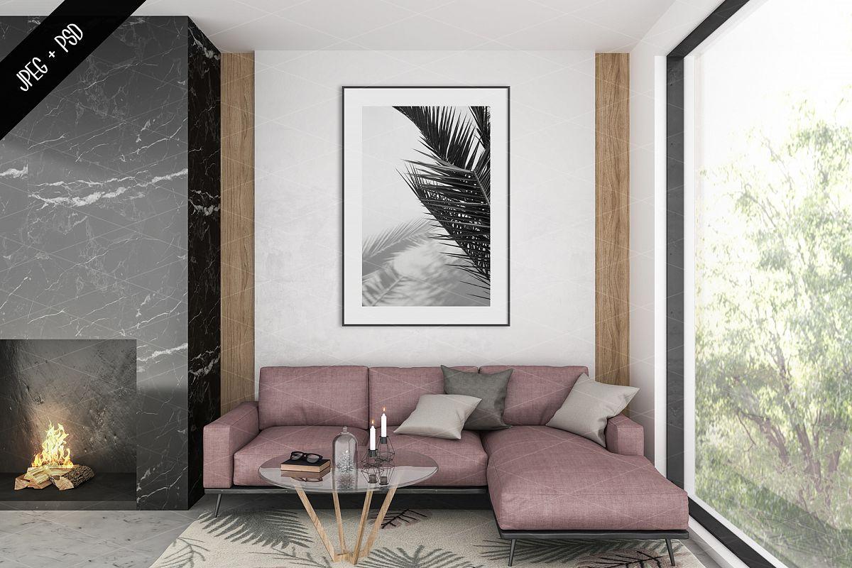 Frame mockup creator - All image size - Interior mockup example image 1