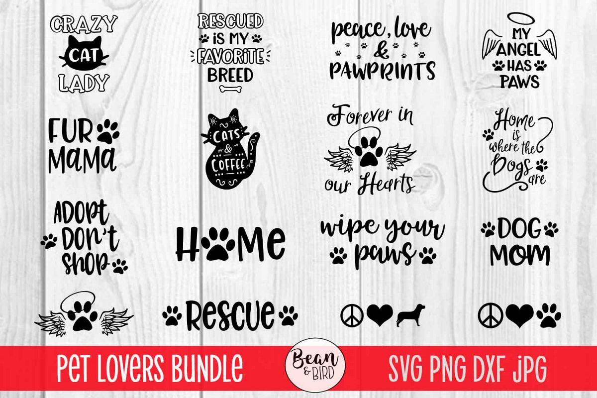 Pet Bundle Pets ans Animal Svgs example image 1