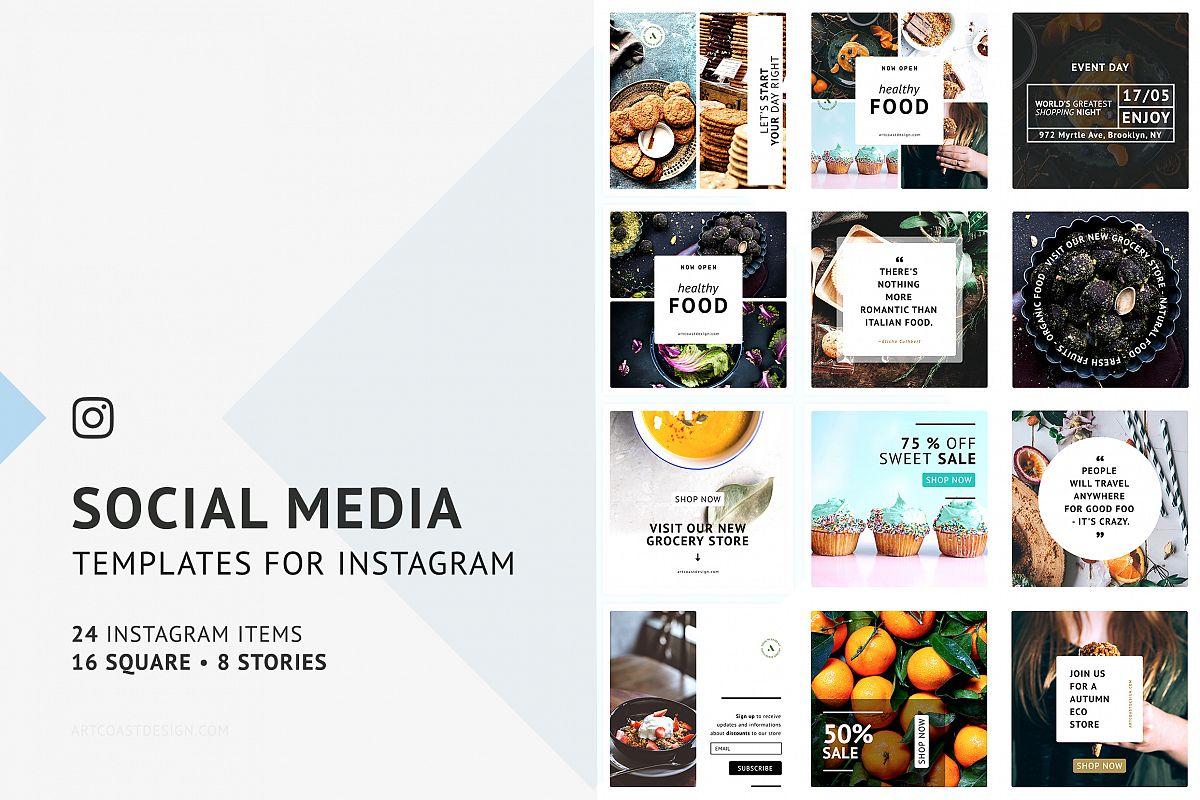 Social Media Template | Instagram Social Media Templates
