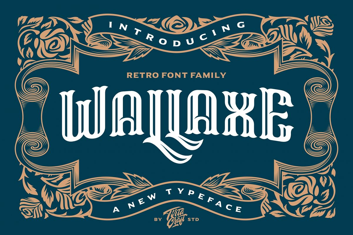 Wall Axe Font example image 1