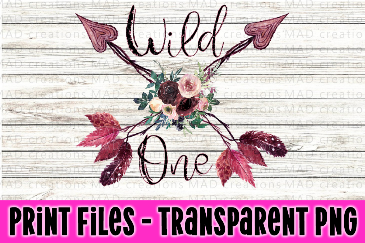 1st Birthday - Wild One - Boho Arrows and Feather example image 1