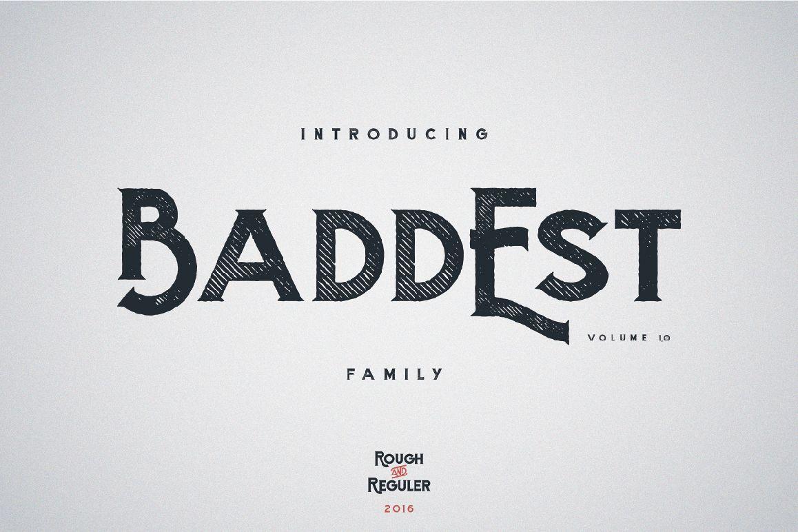 Baddest Family - Vol.1 example image 1