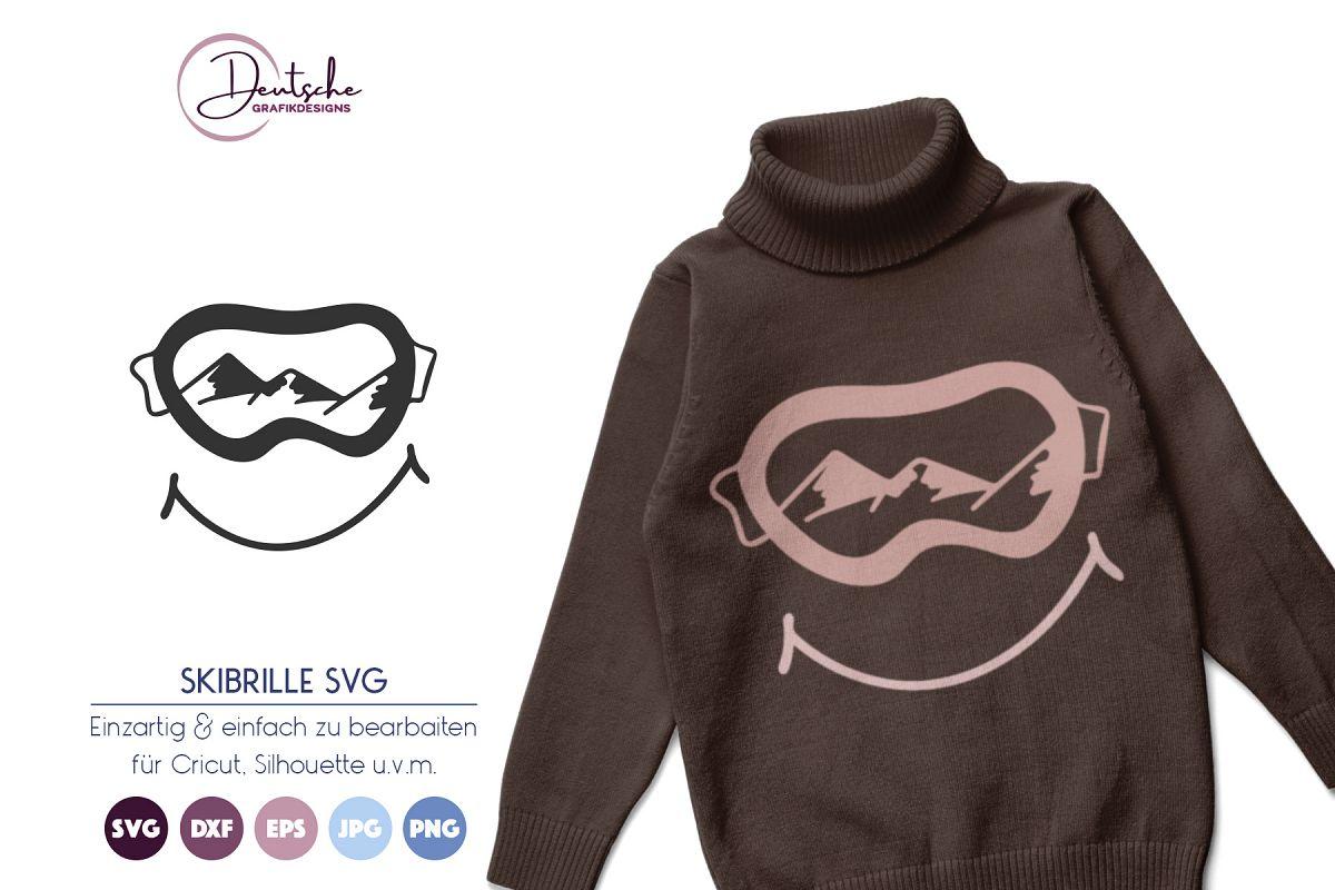 Skibrille SVG example image 1