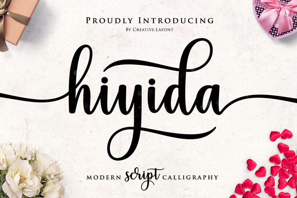 Hiyida Script example image 1