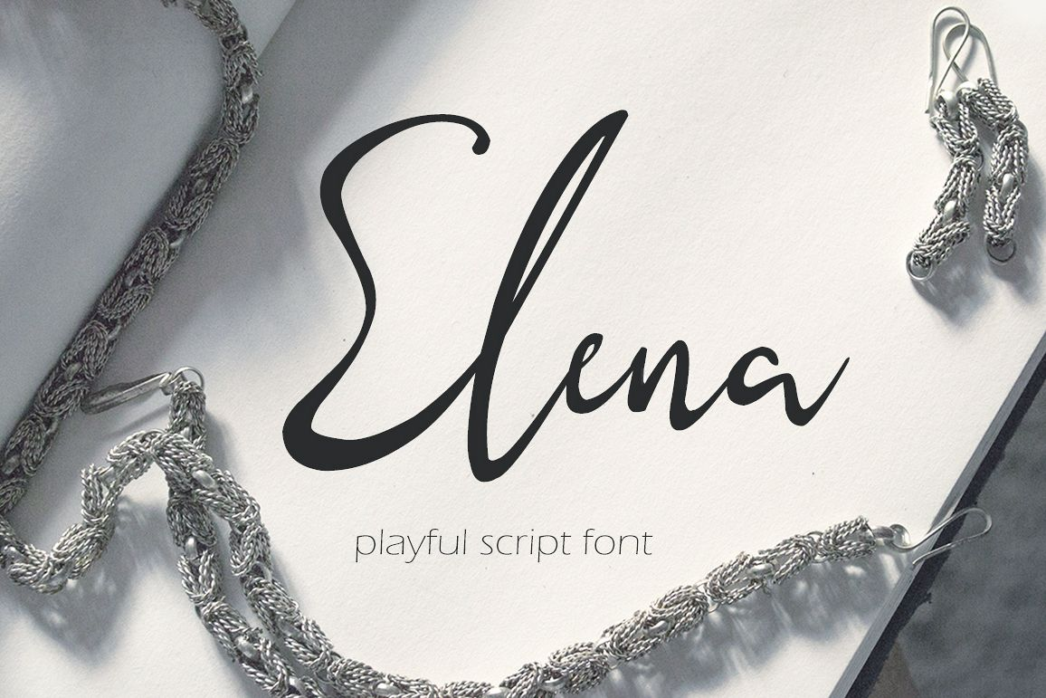 Elena - playful script example image 1