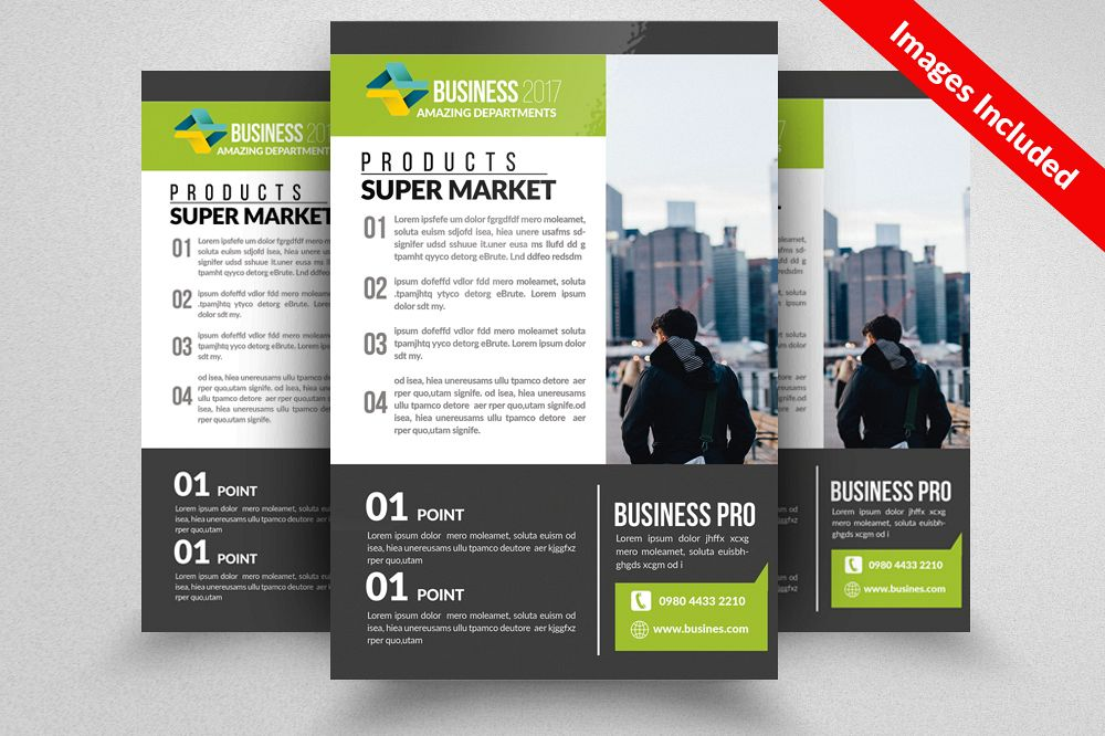 Business Associate Flyer Template example image 1