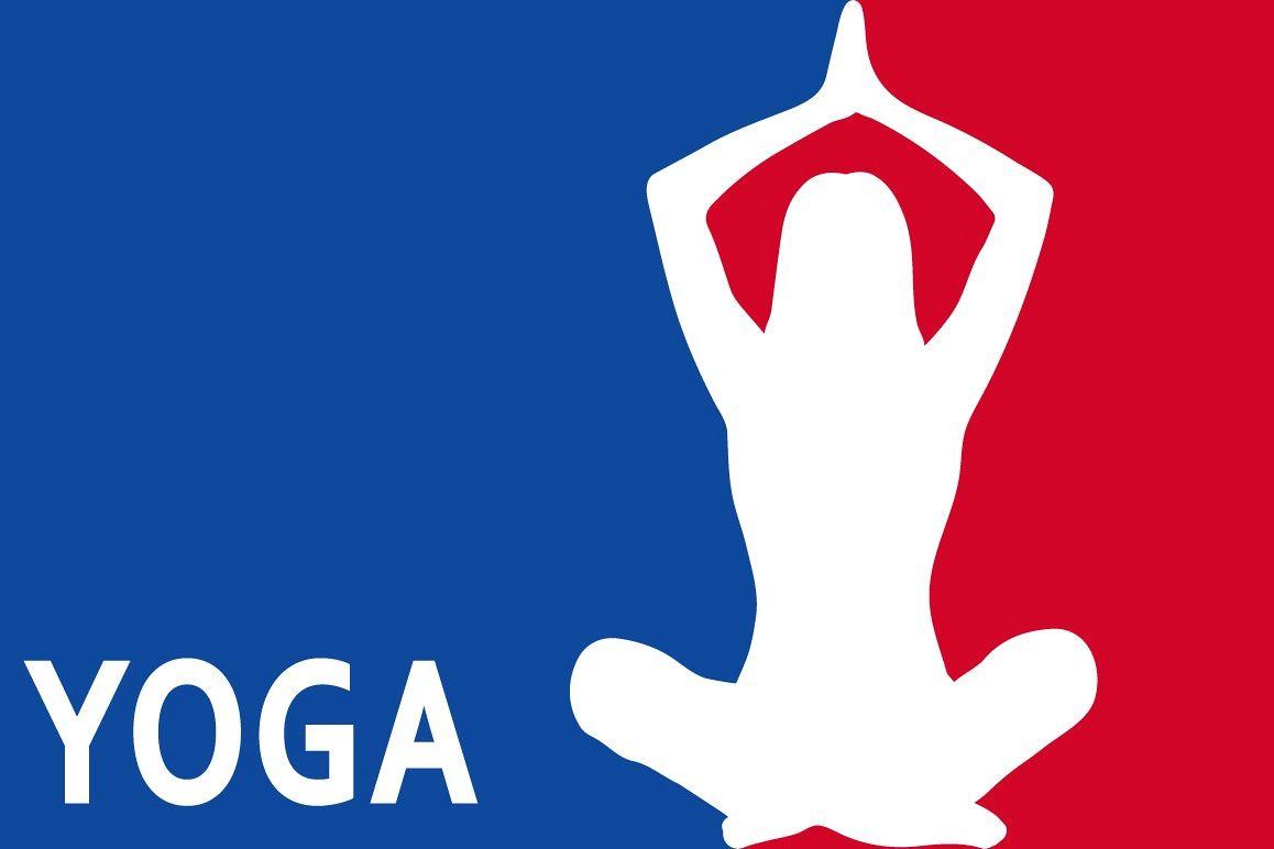 Yoga Nba Logo Style