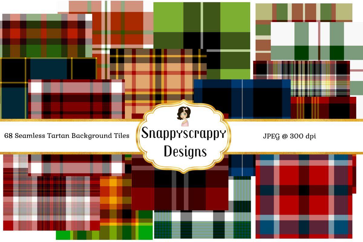 Tartan Seamless Background Tiles example image 1