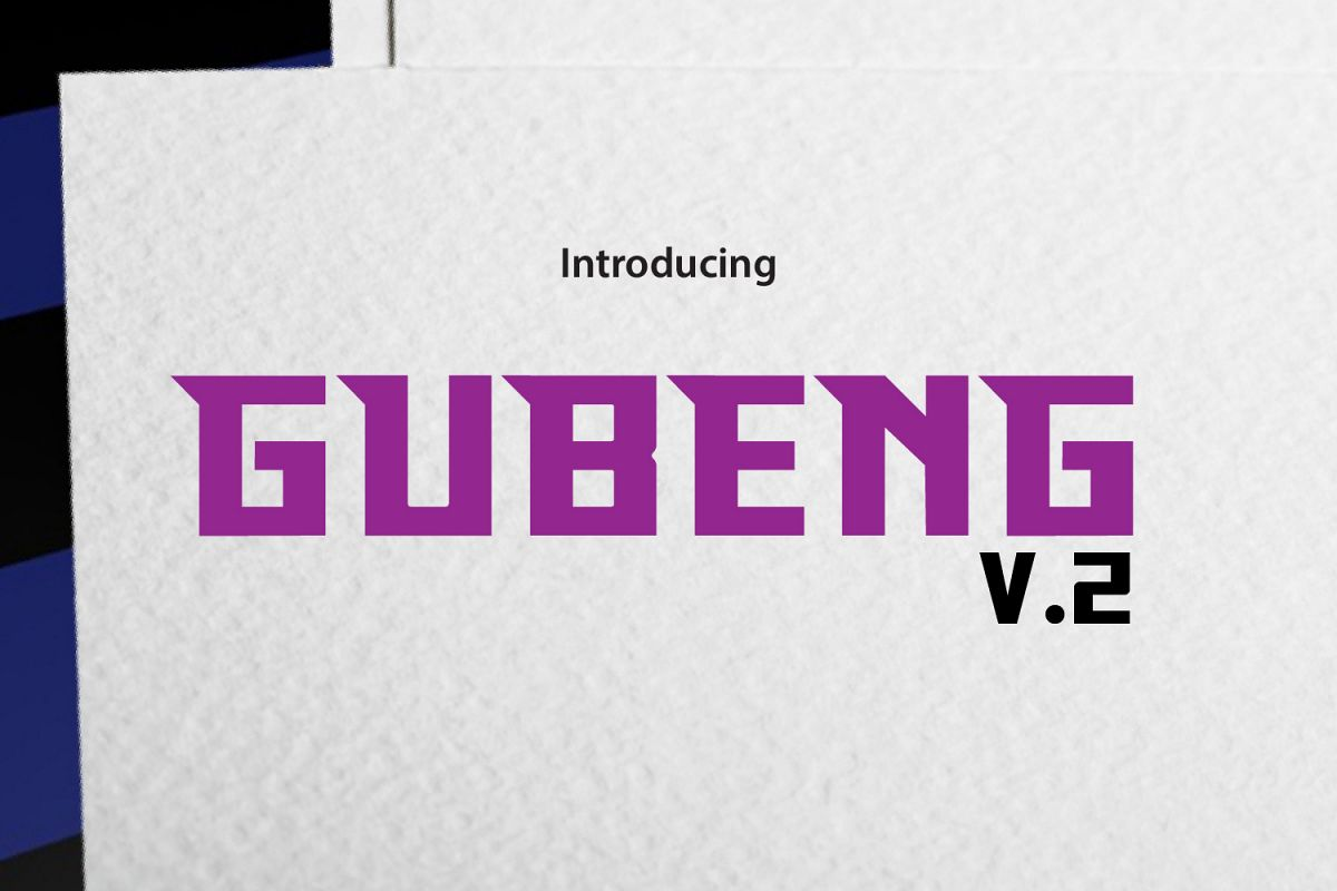 GUBENG V.2 example image 1