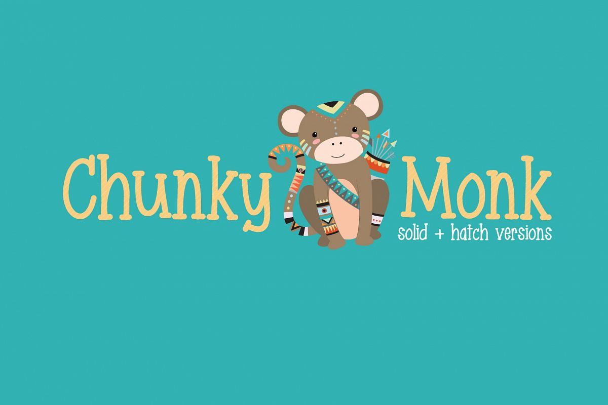 Chunky Monk example image 1