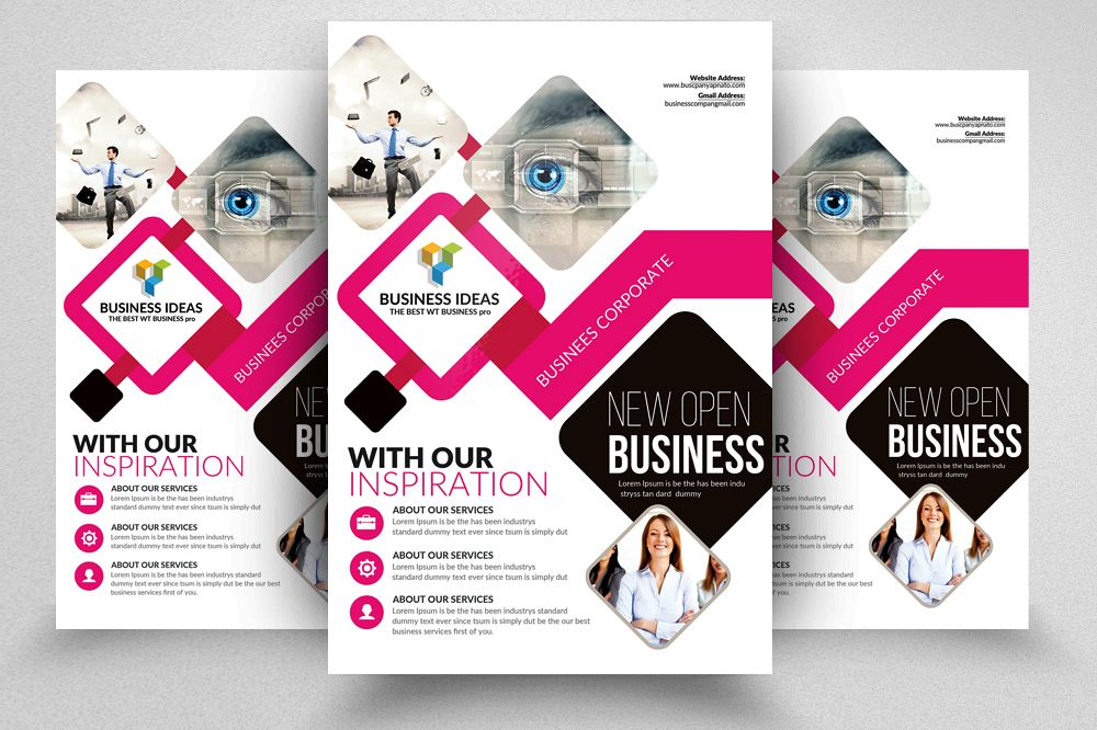 Insurance Consulting Business Flyer Ad example image 1