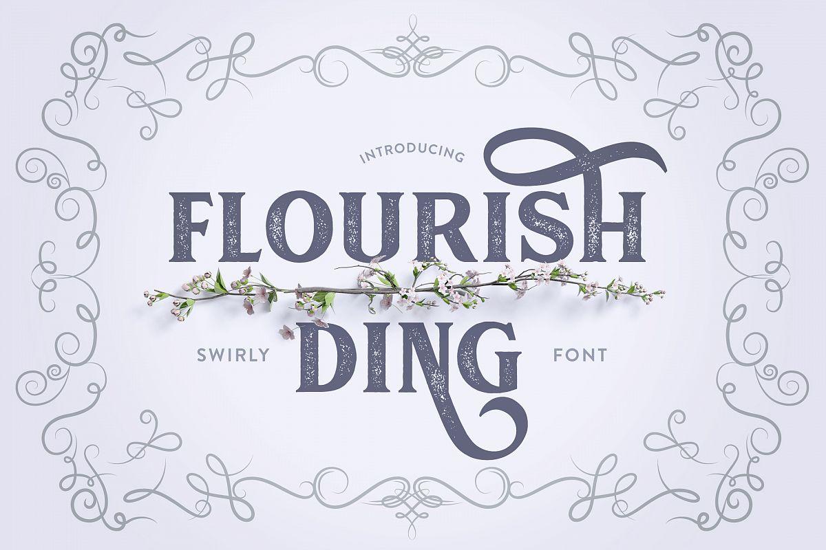 Flourish Ding example image 1