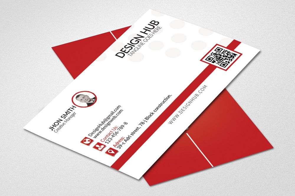 Simple business cards template simple business cards template example image 1 flashek Choice Image