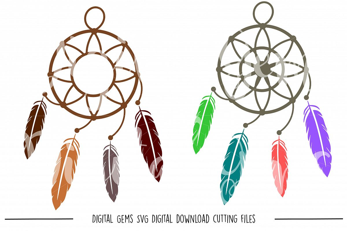 Dream Catcher SVG / PNG Files example image 1