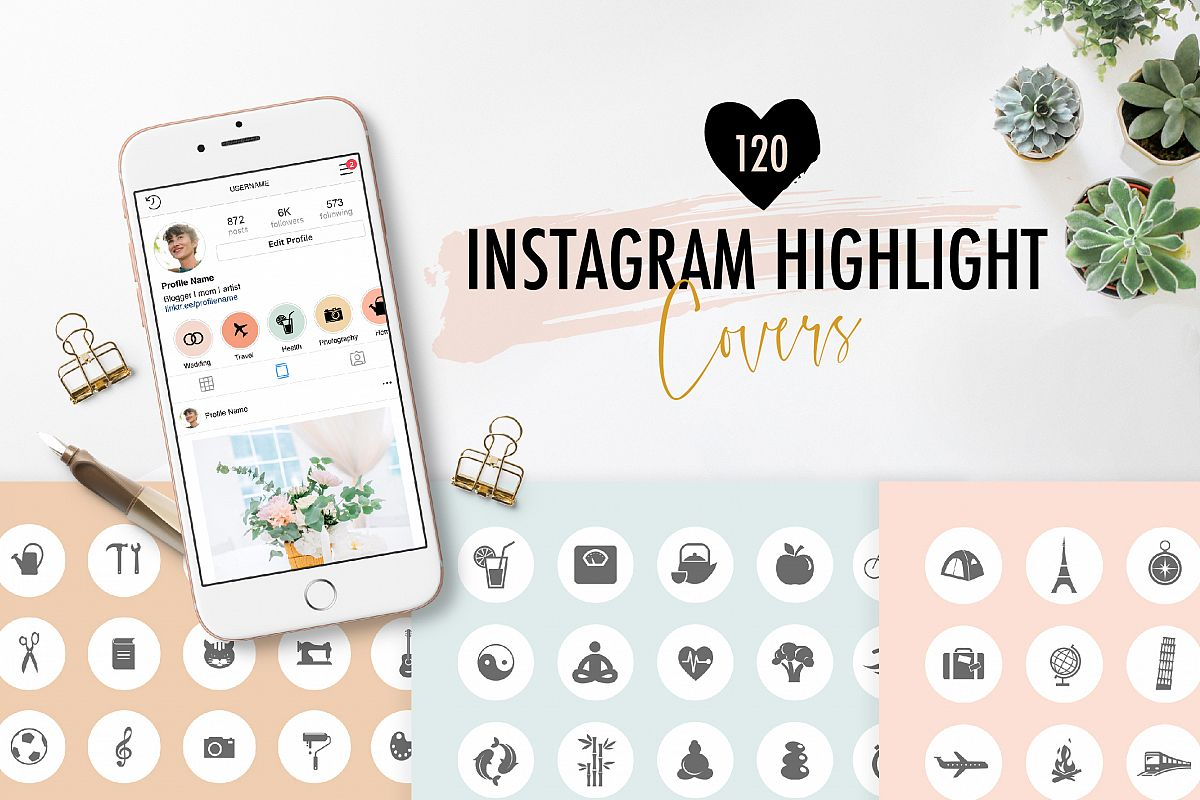Highlight Covers for Instagram example image 1