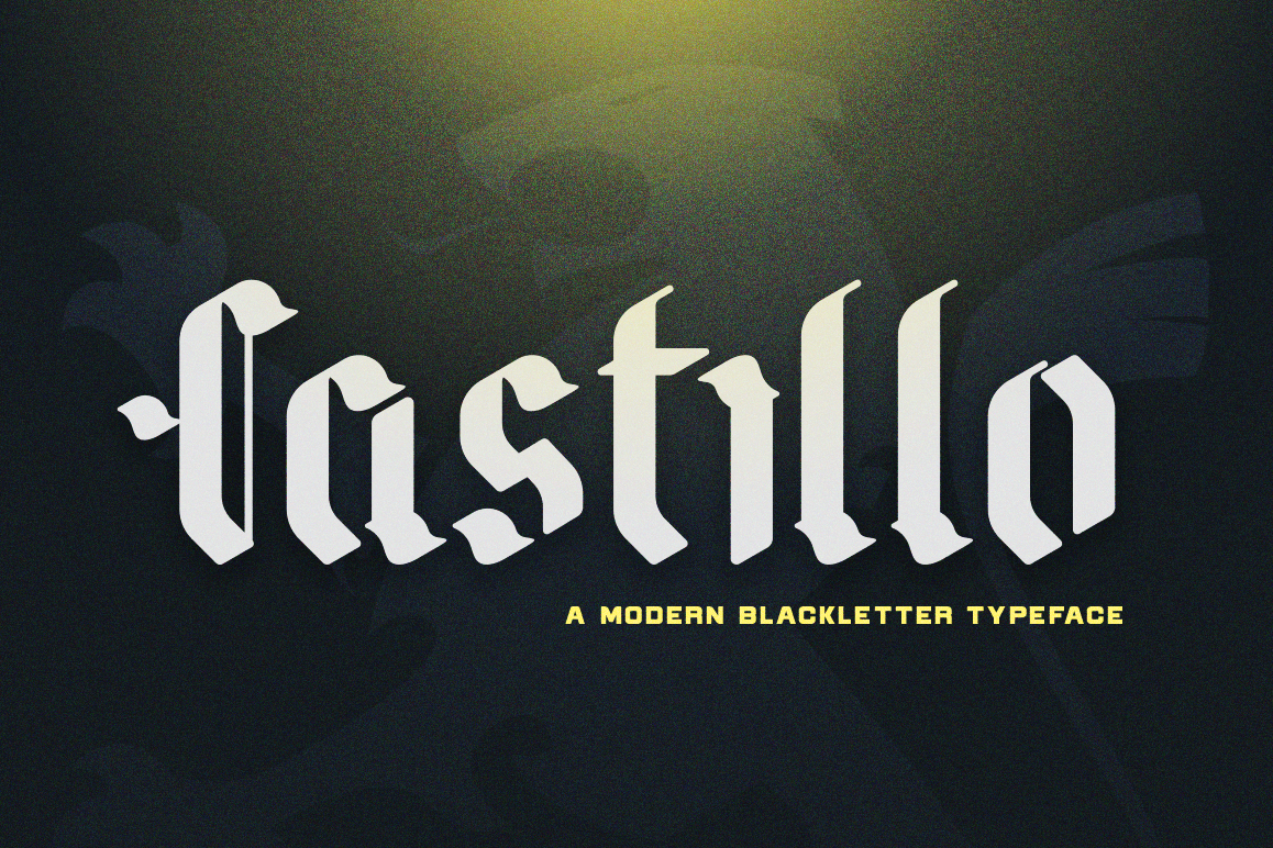 Castillo - Blackletter example image 1