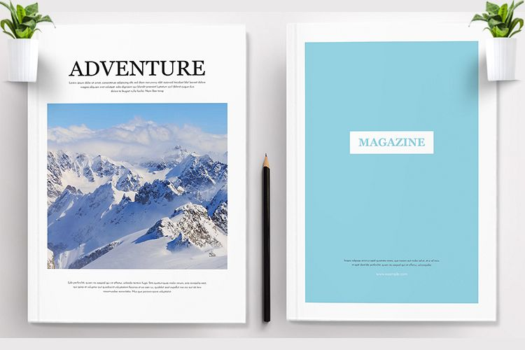 Adventure Magazine Template example image 1
