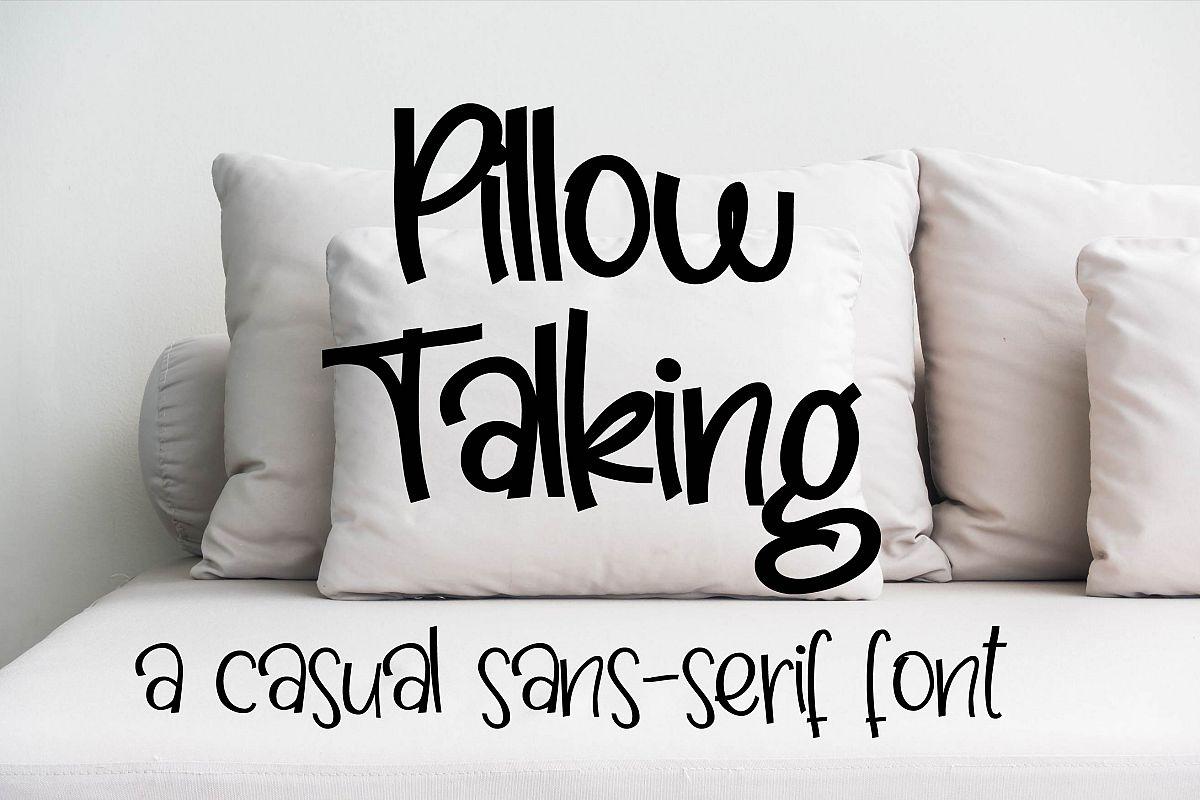 PN Pillow Talking example image 1