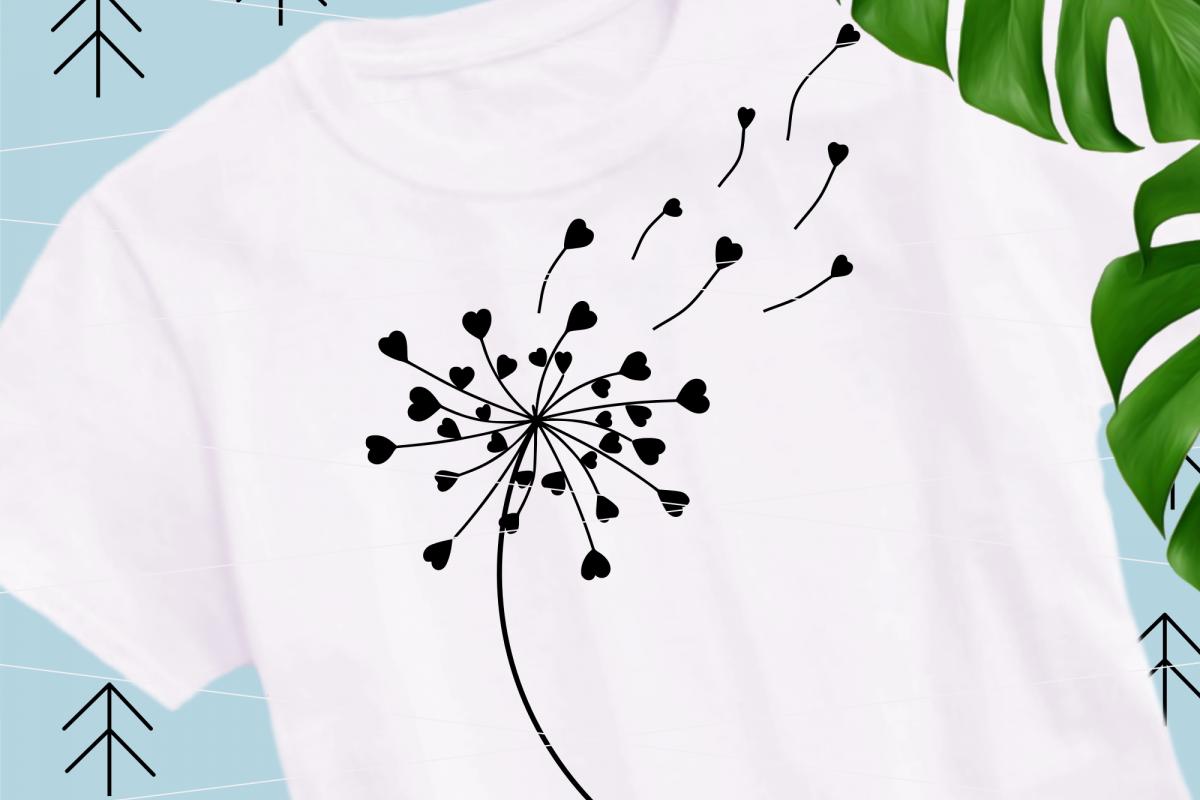 Dandelions svg example image 1