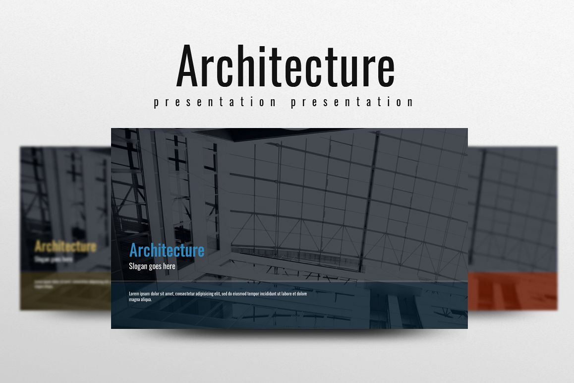 Architecture PPT example image 1