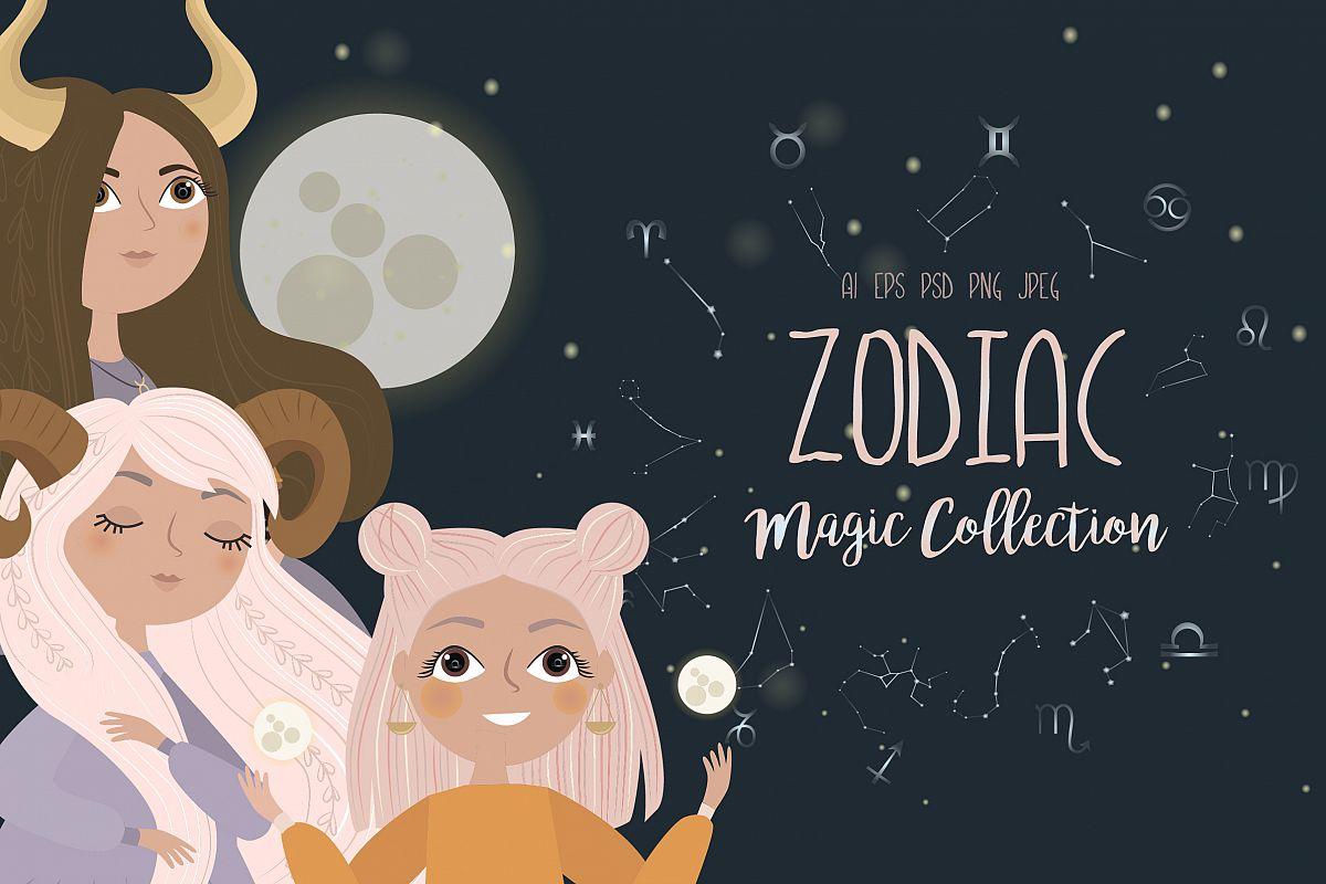Zodiac. Magic Collection example image 1