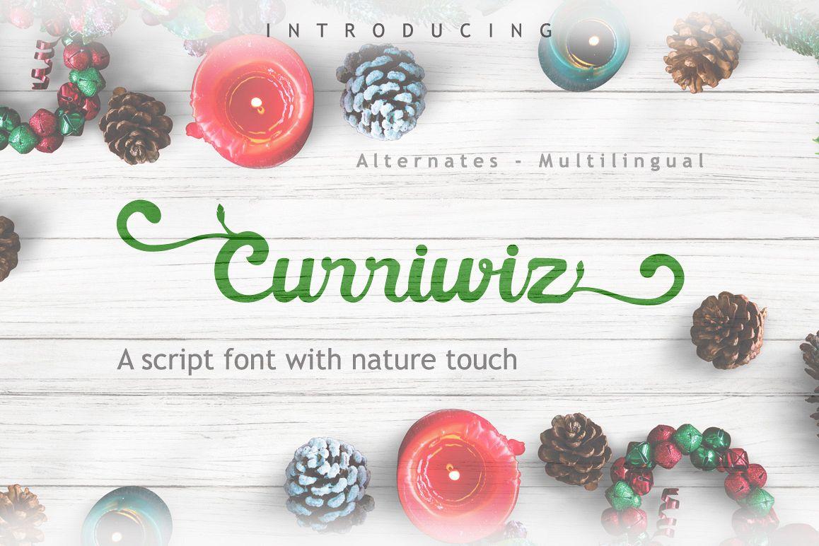 Curriwiz Font example image 1