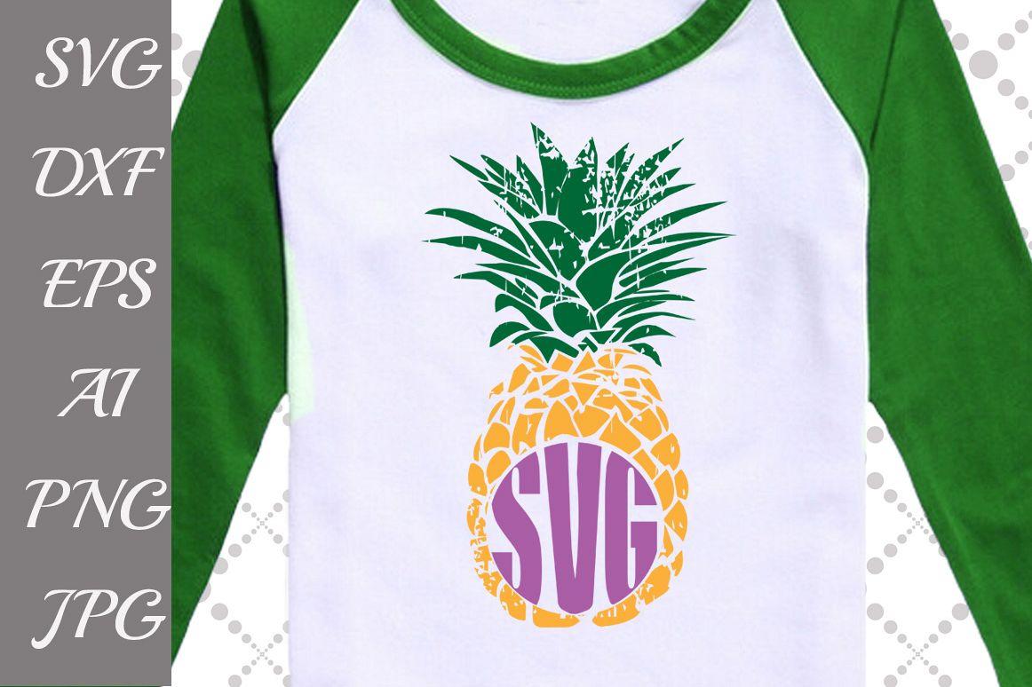Grunge Pineapple Svg: