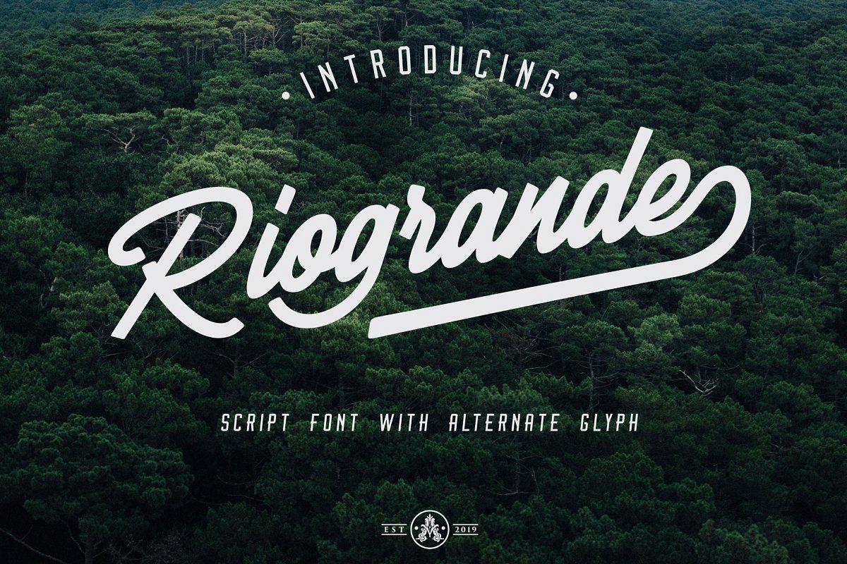 Riogrande Script example image 1