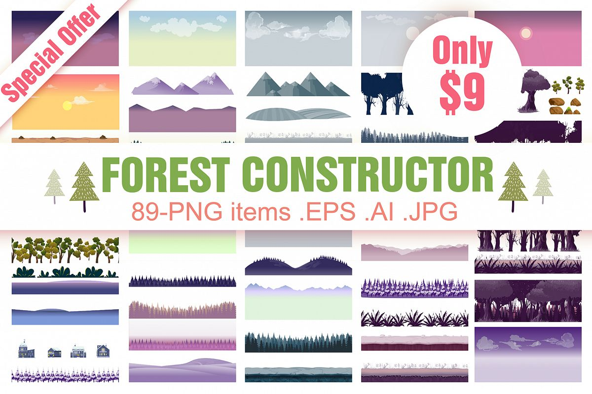Forest Background Constructor example image 1