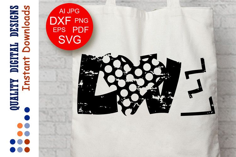 Distressed Heart svg Valentine shirt Grunge example image 1